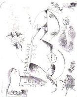 First Stone 1996 Limited Edition Print by Alexandra Nechita - 0