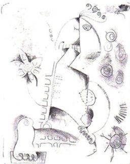 First Stone 1996 Limited Edition Print by Alexandra Nechita