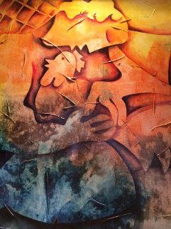 Sense of Self-Worth 2005 48x42 Huge Original Painting - Alexandra Nechita