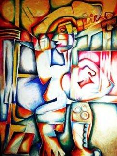 Adolescence the Inevitable Maze Limited Edition Print by Alexandra Nechita