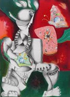 Victorious Spirit 1996 Limited Edition Print by Alexandra Nechita