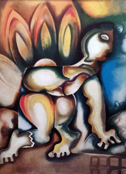 Paradise Irreversible 2007 Overpaint Limited Edition Print by Alexandra Nechita