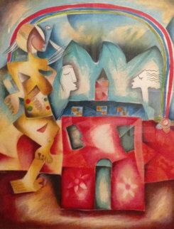My Future Rainbow 1999 Limited Edition Print by Alexandra Nechita