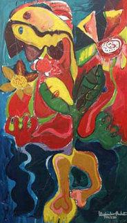 Sunflower Fields 1996 Limited Edition Print by Alexandra Nechita
