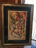 Vogue From Ladder of Giving Suite 2002 Limited Edition Print by Alexandra Nechita - 1