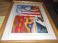 Peace Collector 1998 Limited Edition Print by Alexandra Nechita - 1