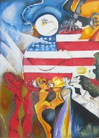 Peace Collector 1998 Limited Edition Print by Alexandra Nechita - 0