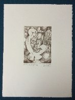 Untitled PP Etching Limited Edition Print by Alexandra Nechita - 2