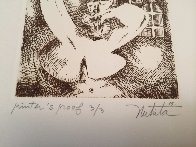 Untitled PP Etching Limited Edition Print by Alexandra Nechita - 5
