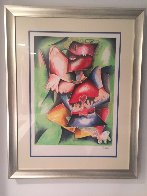 Hearts to Love, Wings to Fly 1998 Limited Edition Print by Alexandra Nechita - 1
