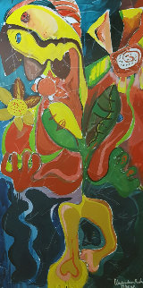Sunflower Fields AP 1996 Limited Edition Print by Alexandra Nechita