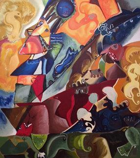 Captian Nechita AP 1996 Limited Edition Print by Alexandra Nechita