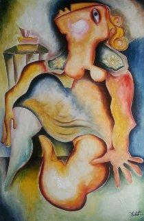 Dreaming of a Perfect Monday 2006 36x24 Original Painting by Alexandra Nechita