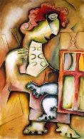 Maestro in the Studio  2002 Limited Edition Print by Alexandra Nechita - 0
