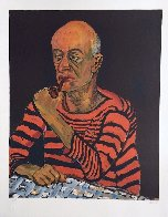 Portrait of John Rothschild PP 1980 Limited Edition Print by Alice Neel - 1
