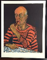 Portrait of John Rothschild PP 1980 Limited Edition Print by Alice Neel - 2