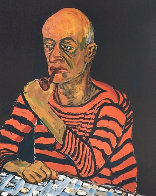 Portrait of John Rothschild PP 1980 Limited Edition Print by Alice Neel - 0