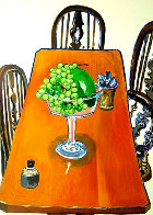 Jar From Samarkand 1982 38x28 Super Huge Limited Edition Print by Alice Neel - 0