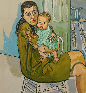 Mother And Child 1982 BAT Limited Edition Print - Alice Neel