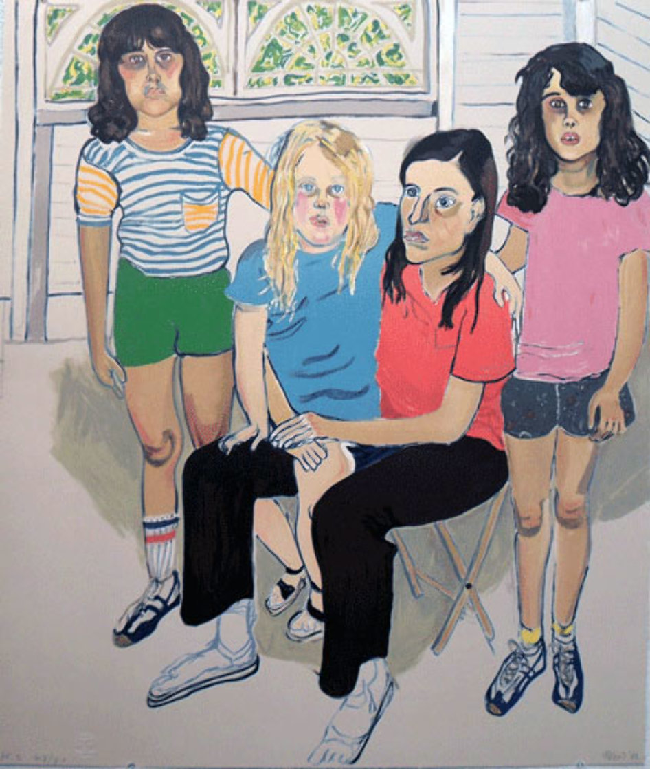 Family 1982 Limited Edition Print by Alice Neel
