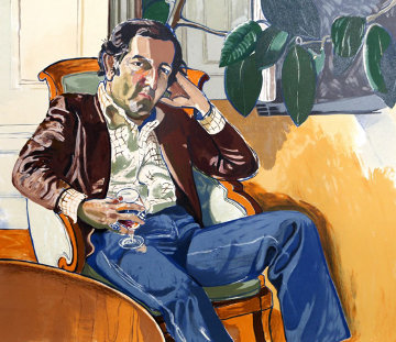 Accountant (Marvin)  Limited Edition Print by Alice Neel