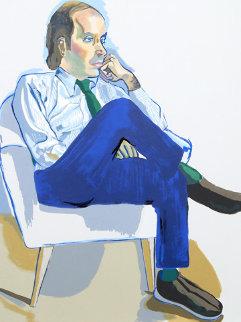 Portrait of Marsden Hartley AP Limited Edition Print - Alice Neel