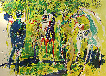 Paddock II 2971 Limited Edition Print by LeRoy Neiman