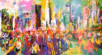 New York Marathon 1980 Limited Edition Print by LeRoy Neiman