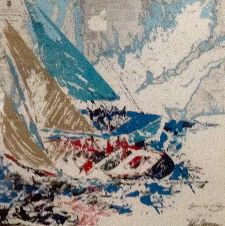 America's Cup, 19th Challenger 1964 HS Limited Edition Print by LeRoy Neiman