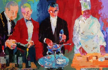 Pour Vous 2000 Limited Edition Print by LeRoy Neiman
