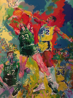Magic Johnson 1988 Limited Edition Print - LeRoy Neiman