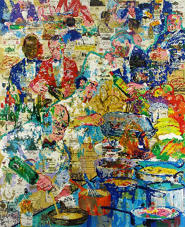 International Cuisine 1998 Limited Edition Print by LeRoy Neiman