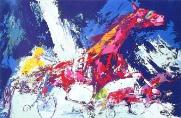 Trotters 1973 Limited Edition Print by LeRoy Neiman