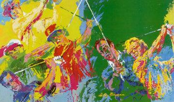 Golf Winners 1984 Limited Edition Print - LeRoy Neiman