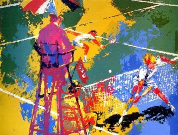 Sudden Death AP 1973 Limited Edition Print by LeRoy Neiman