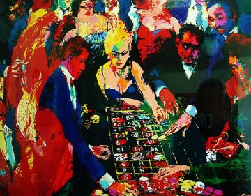 Roulette II 1996 Limited Edition Print - LeRoy Neiman