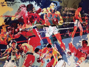 Homage to Ali 1991 Limited Edition Print by LeRoy Neiman