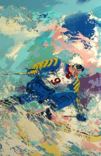 Stenmark 1980  Limited Edition Print by LeRoy Neiman