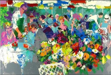 Bistro Garden 1987 Limited Edition Print by LeRoy Neiman
