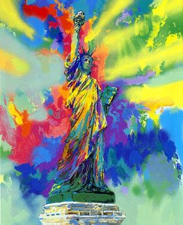 Lady Liberty  1986 Limited Edition Print by LeRoy Neiman