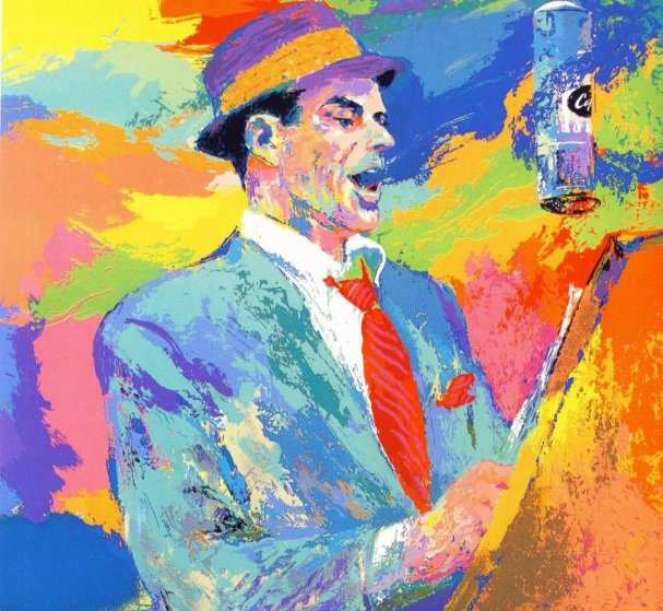 Frank Sinatra Duets  1994 Limited Edition Print by LeRoy Neiman