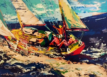 North Sea Sailing 1981 Limited Edition Print by LeRoy Neiman