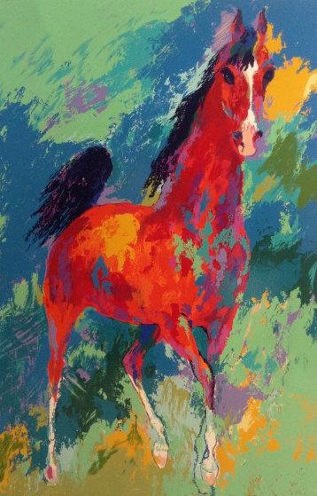 Khemosabi 1985 Limited Edition Print by LeRoy Neiman