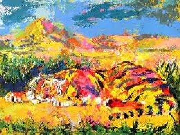 Delacroix Tiger 1977 Limited Edition Print - LeRoy Neiman
