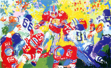 Archie Griffin AP 1973 Limited Edition Print by LeRoy Neiman