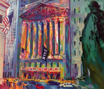 New York Stock Exchange 2003 Limited Edition Print - LeRoy Neiman