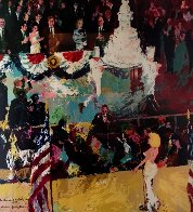 Happy Birthday Mr. President 1962 Madison Square Garden AP 1986 Limited Edition Print by LeRoy Neiman - 0
