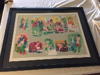 Bordello 1995 Limited Edition Print by LeRoy Neiman - 2