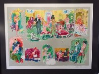 Bordello 1995 Limited Edition Print by LeRoy Neiman - 1