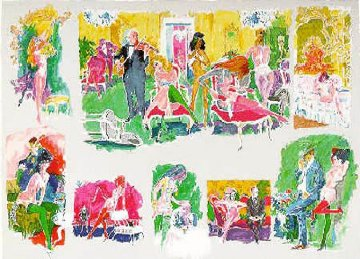 Bordello 1995 Limited Edition Print - LeRoy Neiman